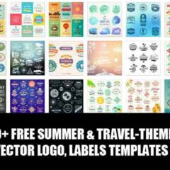 200+ Logo Templates for Summer Labels and Badges