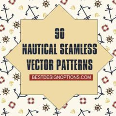 90+ Free Seamless Nautical Patterns and Backgrounds