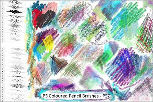 photoshop pencil brush
