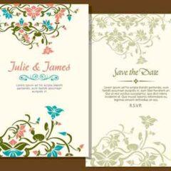 20 Free Wedding Invitation Card Templates