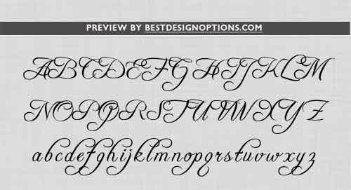 free monogram font