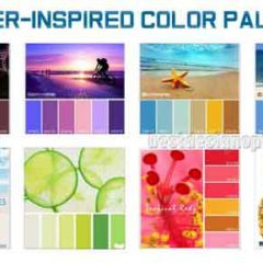 Summer Colors: Cool Palettes for Summer Designs