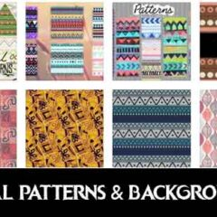 75+ Free Tribal Patterns and Backgrounds to Collect