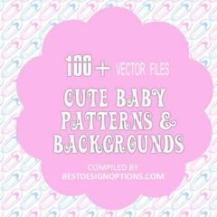 100+ Cute Seamless Baby Background Patterns
