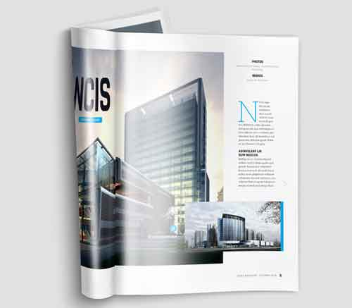 Magazine MockUp Designs in Editable PSD Templates