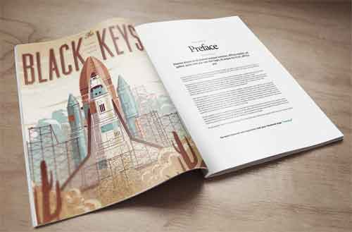 Magazine MockUp Designs in Editable PSD Templates