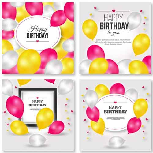 Birthday Card Template  Happy Birthday Cards Templates