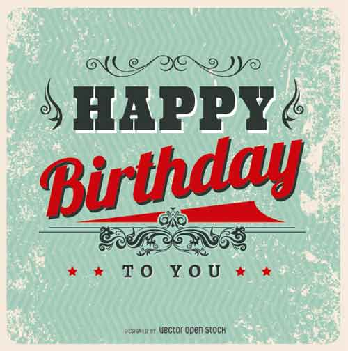 Birthday Card Template Free Editable Files To Download, Birthday Card  Happy Birthday Card Template Free Download