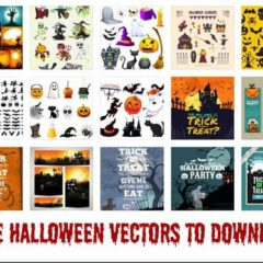 New Halloween Clip Art Vector Graphics to Download