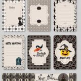7 Free Printable Halloween Cards for Scrapbooks