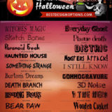 20 Free Halloween Fonts for Making Scary Designs
