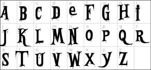 Halloween Fonts: 20 Free Typefaces for Scary Designs