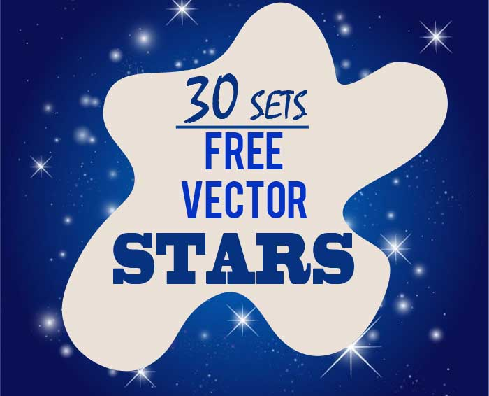 Stars Clip Art: 30 Sets of Free Vector Graphics