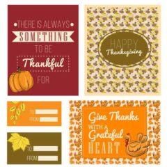 Free Thanksgiving Card Printables