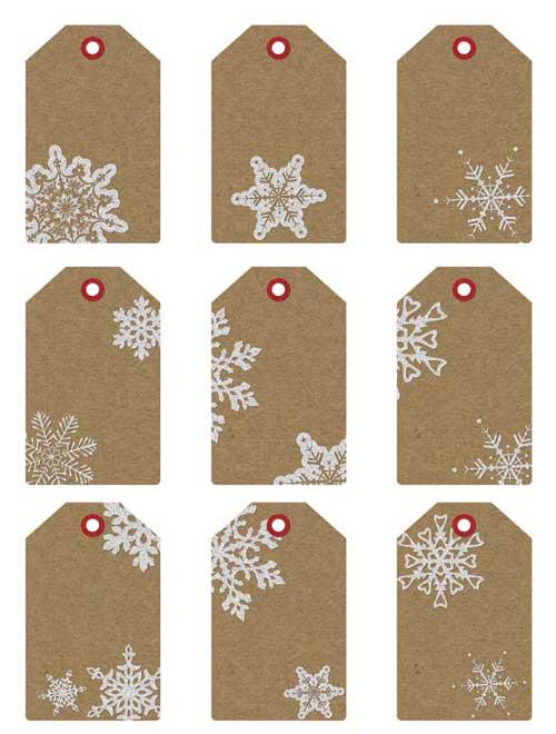 Printable christmas gift tags and gift labels printable christmas