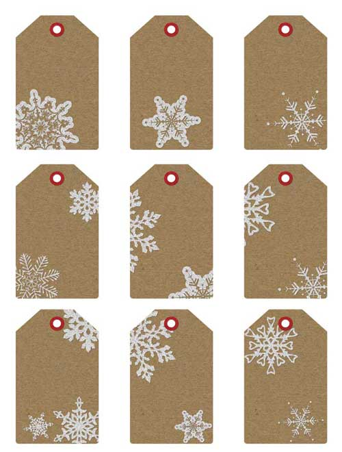 gift tags and gift labels, Printable christmas gift tags and gift ...