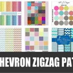 300+ Repeating Chevron Zigzag Patterns
