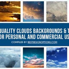 25 Free High-Res Cloud Background Textures
