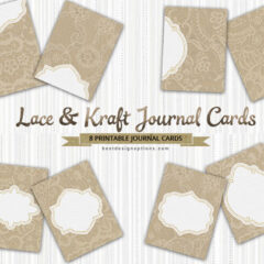 32 Free Journaling Cards Plus Gift Tags and Labels