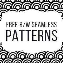 200+ Free Black and White Background Patterns
