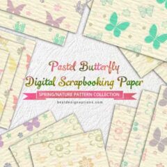 20 Free Butterfly Background Patterns to Download