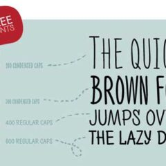 15 Free Cool Lettering Font Types for Fun Designs