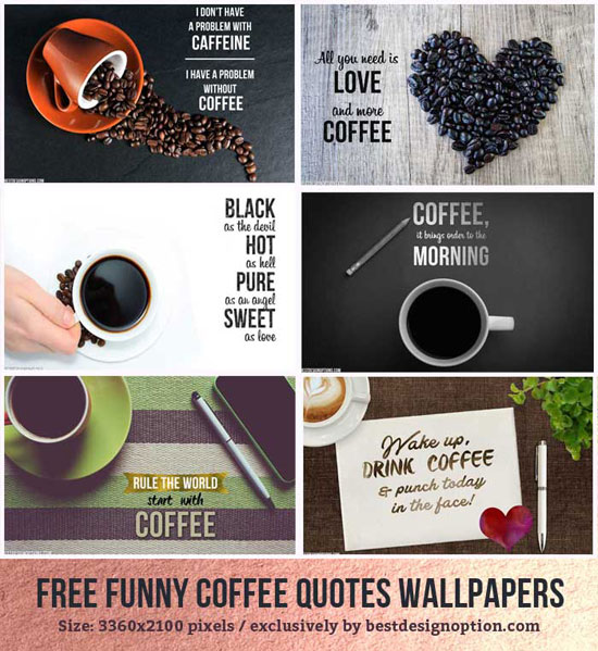 Coffee Wallpapers Quotes Coffee Images Pics: Coffee Wallpapers With Funny Coffee Quotes