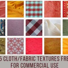 25 High-Res Fabric Textures Free for Commercial Use