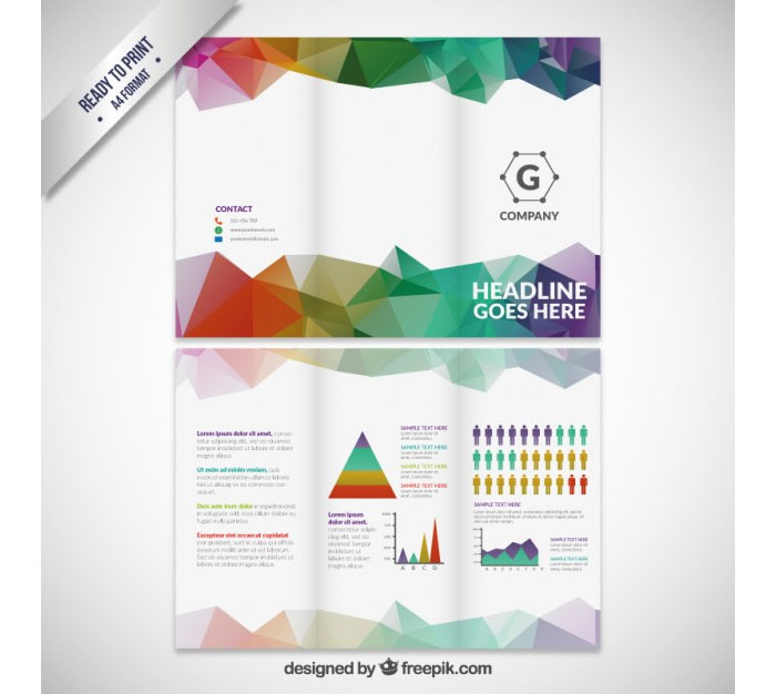 Tri fold brochure template 20 free easy to customize designs for Trifold brochure template free