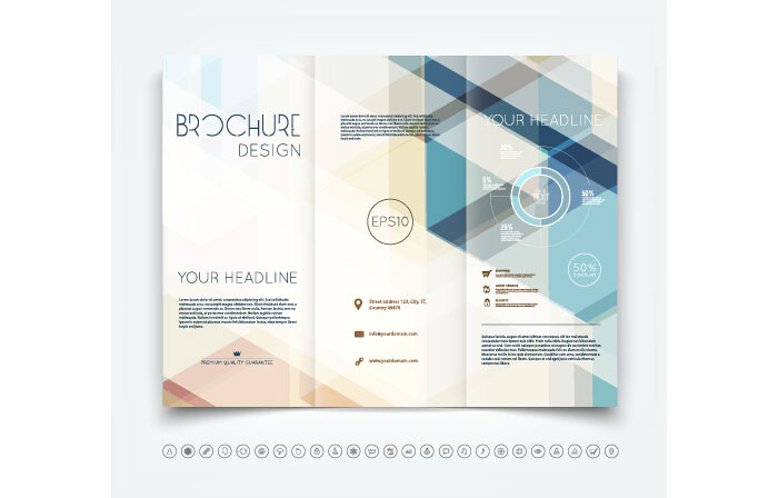 Trifold Brochure Template Free EasytoCustomize Designs - Free templates for brochures tri fold