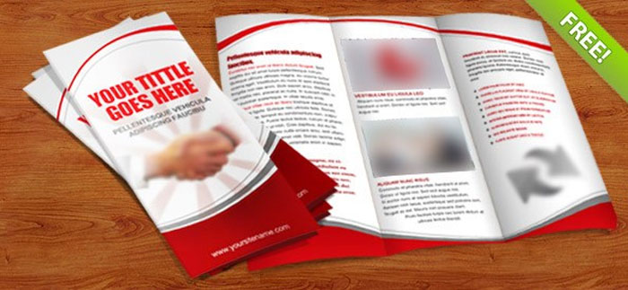 Trifold Brochure Template Free EasytoCustomize Designs - Editable brochure templates