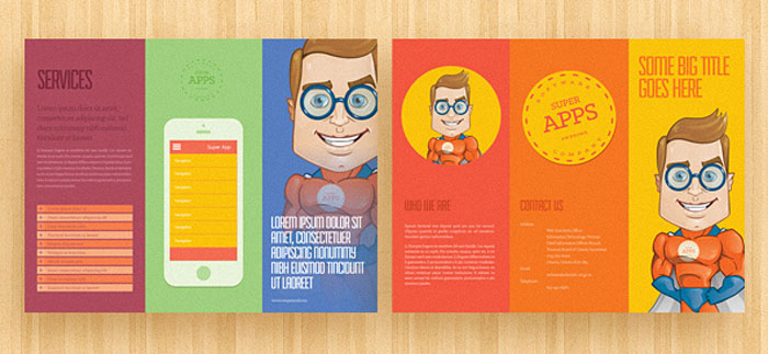 Trifold Brochure Template Free EasytoCustomize Designs - Template of a brochure