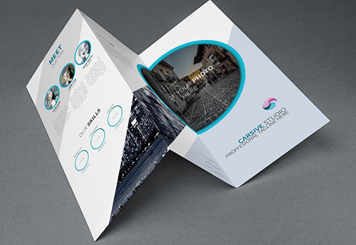 Tri fold brochure template 20 free designs for Simple tri fold brochure template