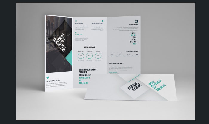 Tri Fold Brochure Template 20 Free Easy To Customize Designs