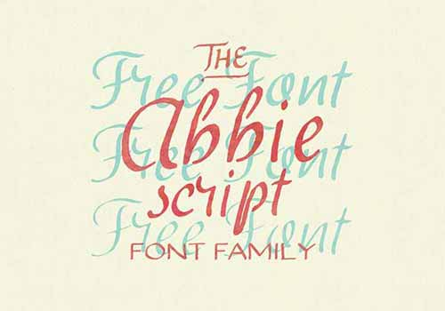 set of lovely free calligraphy fonts available in three different ...