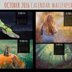 Free Calendar Wallpapers for October 2016