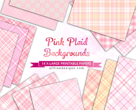 pink plaids