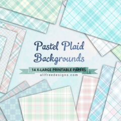 14 Free Pastel Plaid Background Patterns