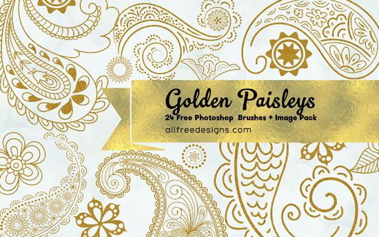 paisley photoshop brushes