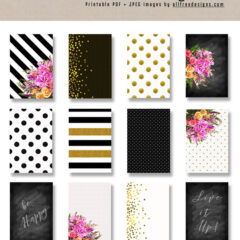 Free Printable Card Backgrounds for Making Custom Greeting Cards