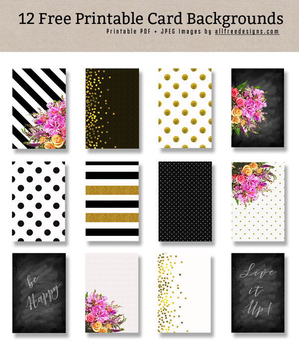 printable card backgrounds