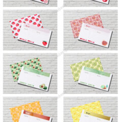 8 Fruity Printable Recipe Cards to Download Free