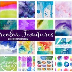 150+ Free Watercolor Backgrounds for Trendy Designs