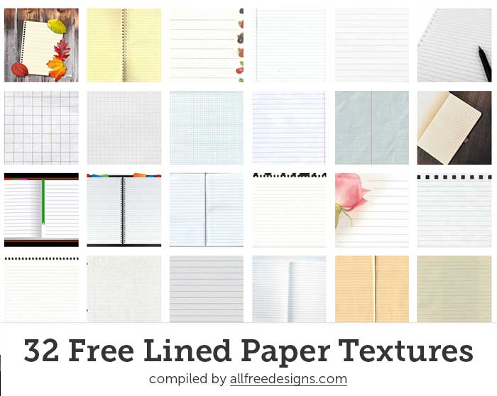 Lined Paper Texture  Download Lined Paper