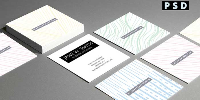 Mini Business Cards Free Double Sided PSD Templates - Mini business cards template