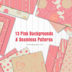 Pink Backgrounds: 13 Printable Digital Papers to Download Free