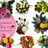 15 High-Res Flower Bouquets Photoshop Brushes