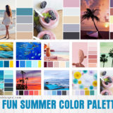 Summer Color Palettes: 12 Inspiring Color Combinations