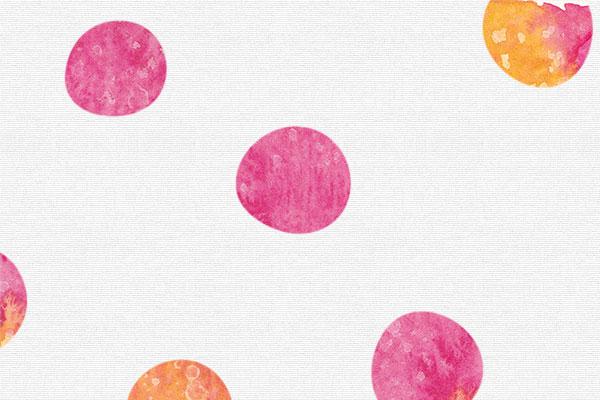 pink polka dots patterns