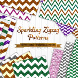 15 Free-to-Download Sparkling Zigzag Backgrounds and Patterns